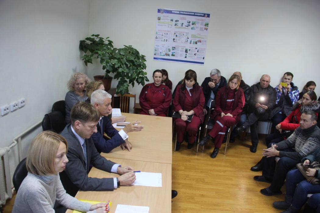 Встреча главы Минздрава и медиков скорой в Магнитогорске