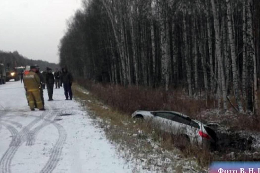 Сотрудница МВД чуть не погибла в ДТП под Екатеринбургом