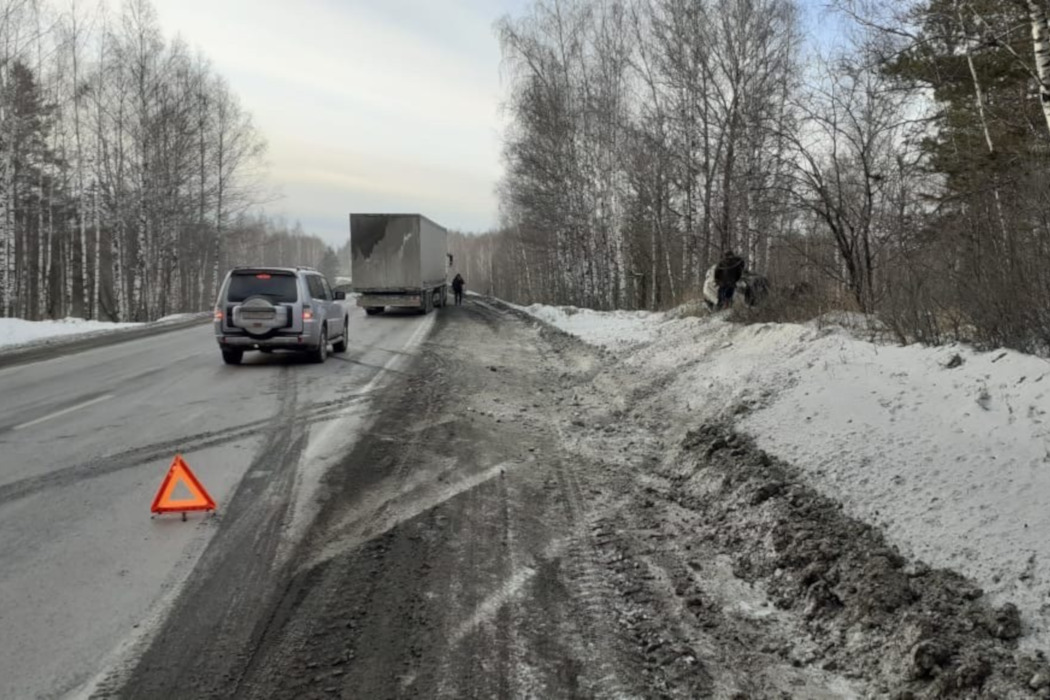 В Челябинской области на трассе М-5 «Урал» произошло смертельное ДТП