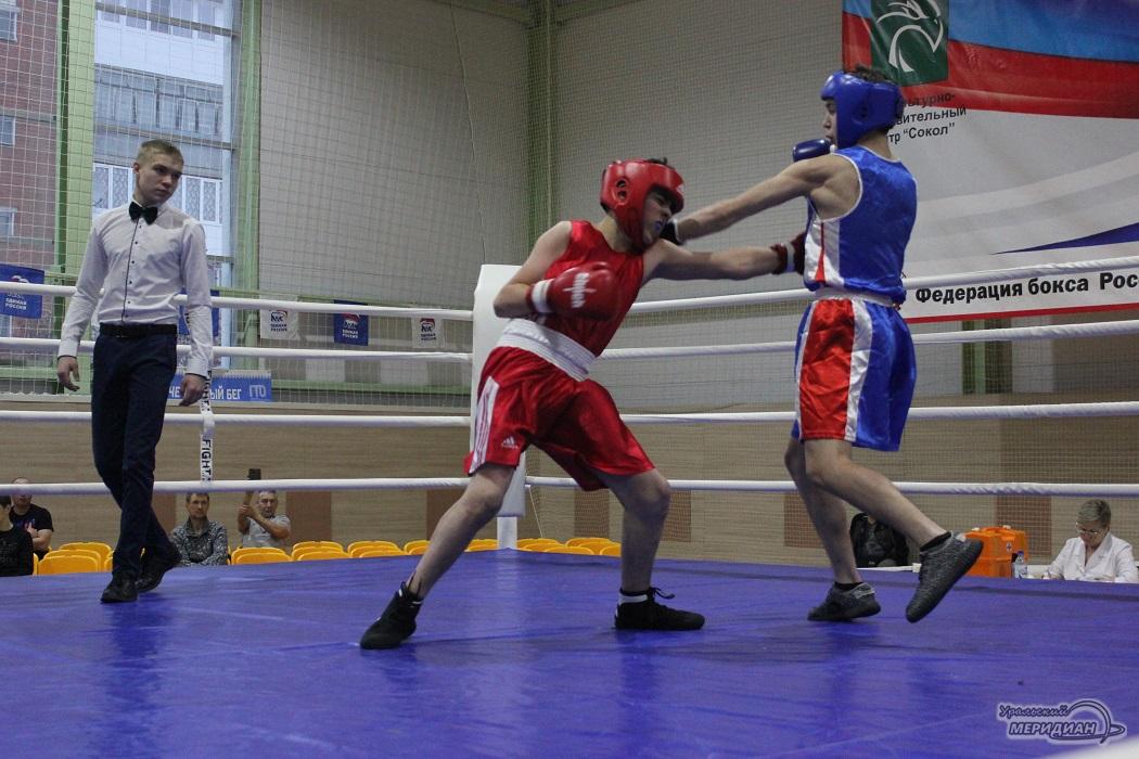 Турнир по боксу в Красноуфимске