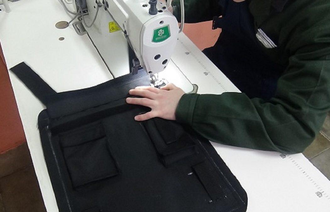 На Урале малолетние осужденные шьют бронежилеты для силовиков