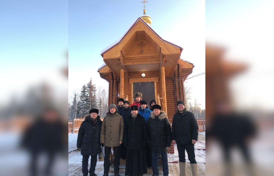На Ямале в самом маленьком селе Надымского района возрожден храм