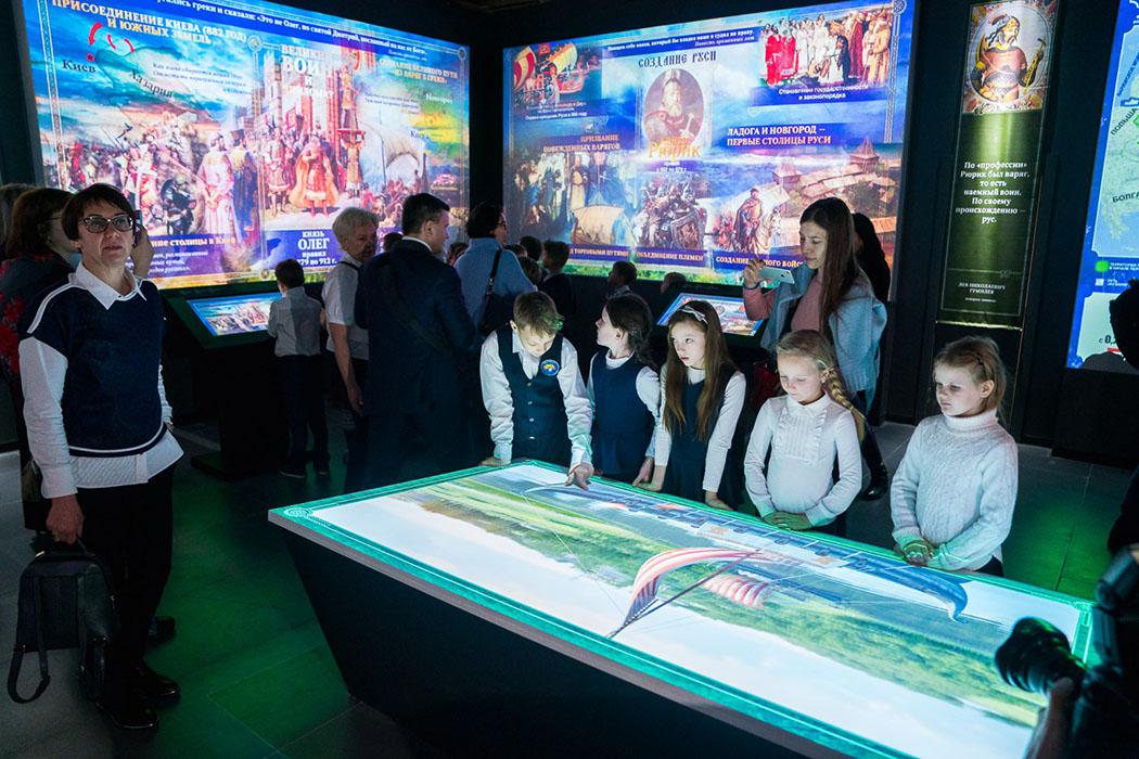 Открытие парка «Россия - моя история» в Сургуте собрало аншлаг