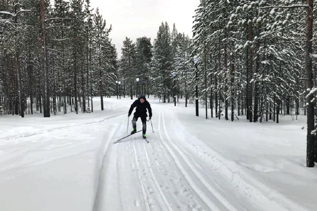 В Красноселькупском районе Ямала открылась модульная лыжная база