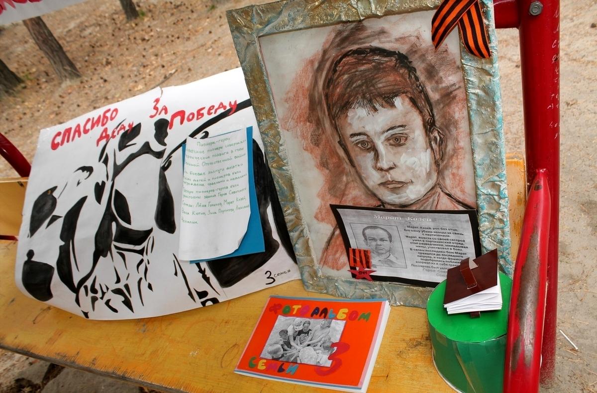 В Курганской области дети в лагерях разучивают стихи и песни о войне