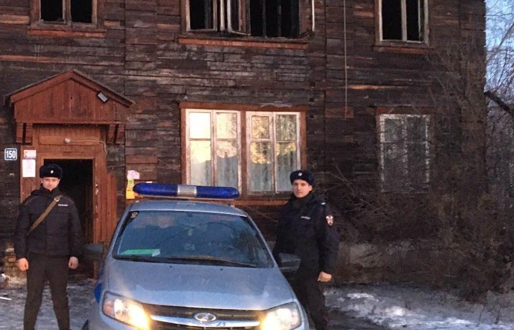 В Тюмени в крещенскую ночь произошел пожар в двухэтажном доме