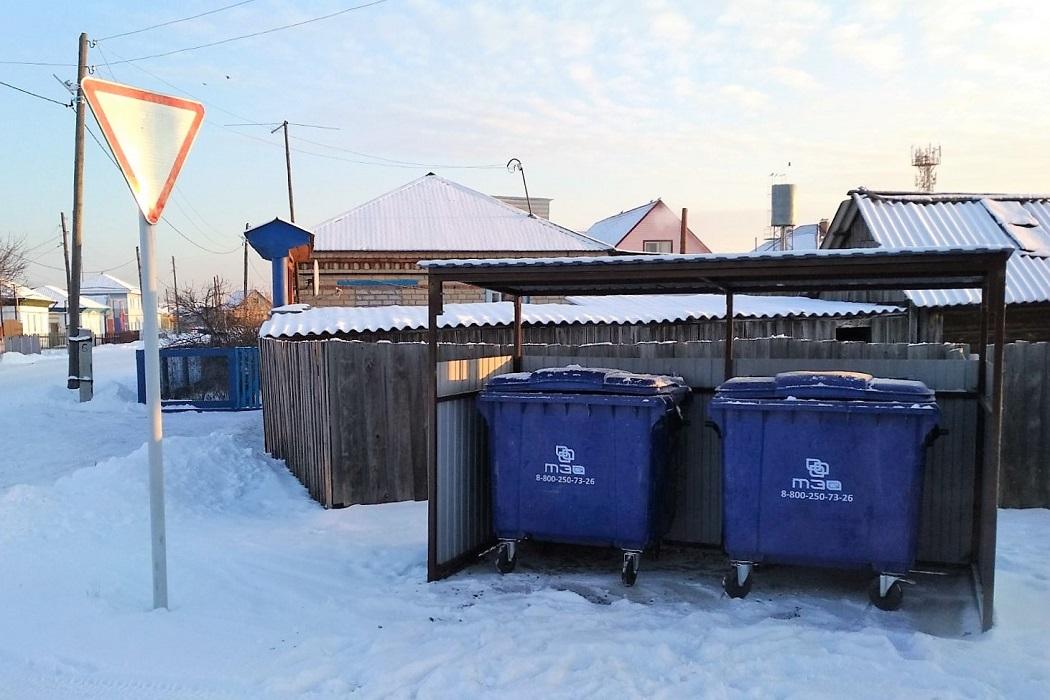 контейнерные площадки ТКО баки мусор