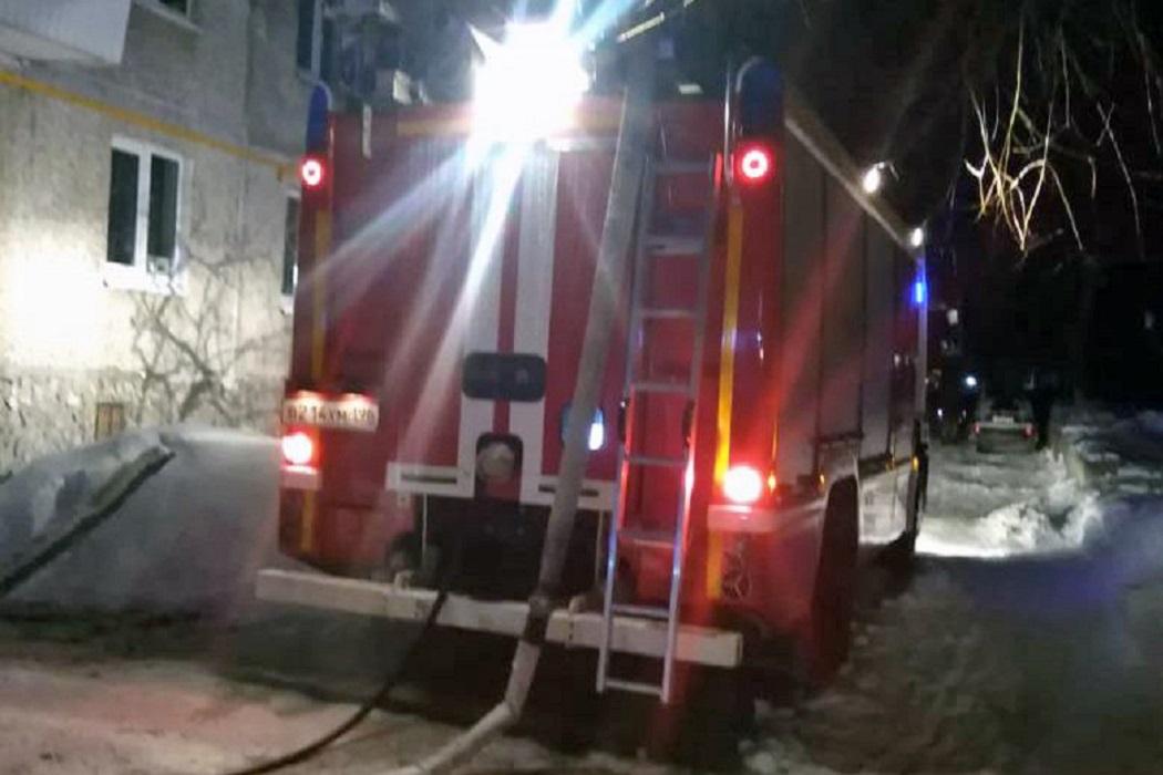 При пожаре в Ирбите погиб 17-летний парень