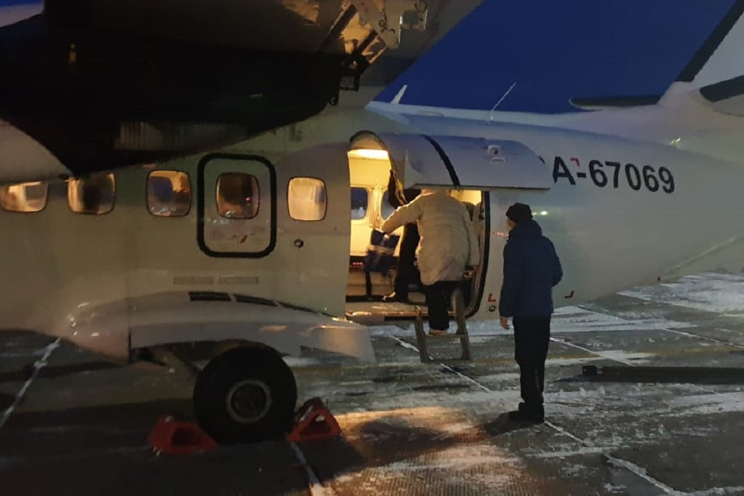 санавиация ХМАО-Югры вертолет