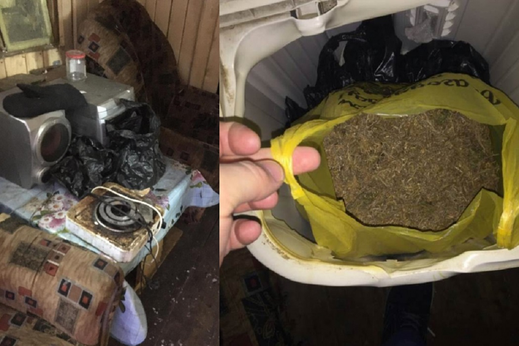 Ишимец хранил наркотики в стиральной машине 1