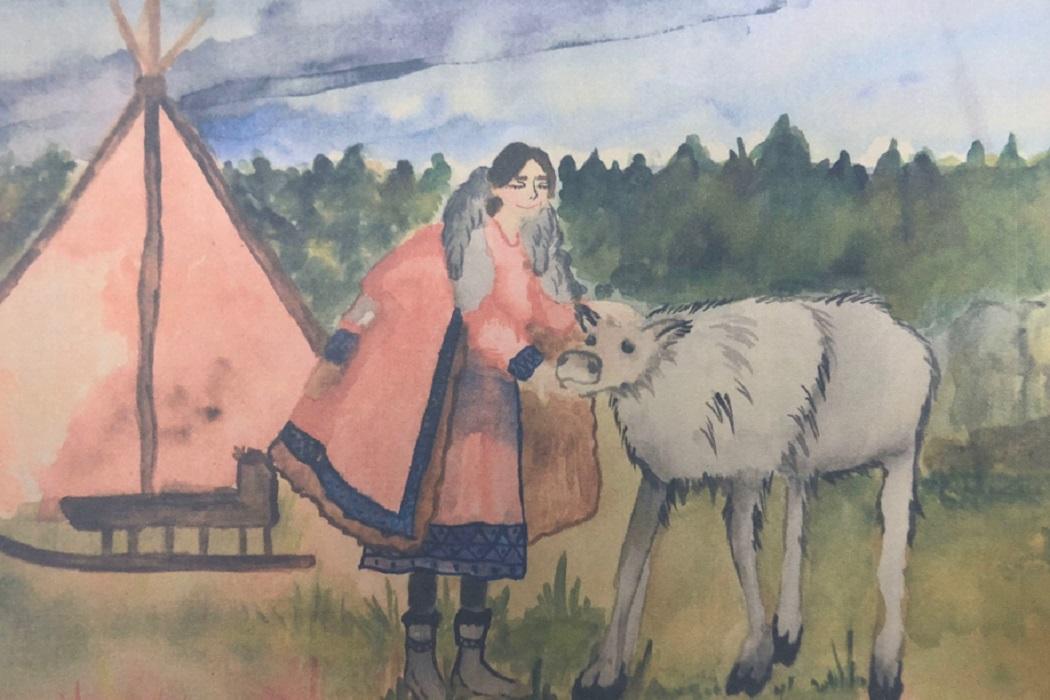 На Ямале выбрали детские рисунки для иллюстрации книги о фермерстве