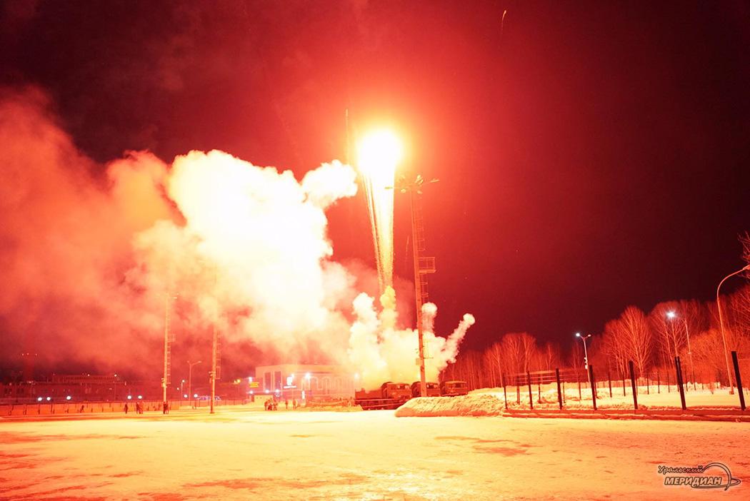 Салют Екатеринбург 23 февраля 2020