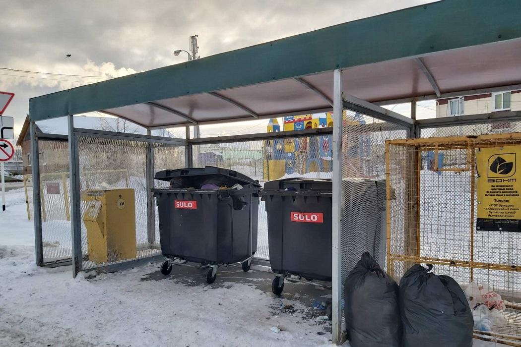 ТКО площадка для мусора югра