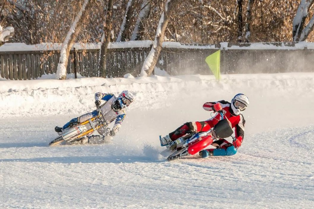 Тюменские мотогонщики посоревнуются в гонках на льду