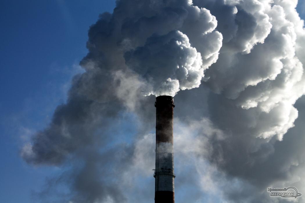Труба выбросы смог