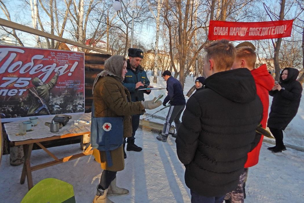 В Далматово подростки состязались в квест-игре «Юность в сапогах»
