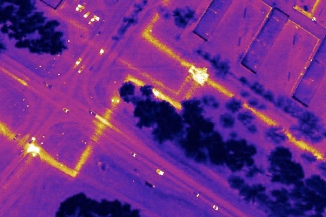 В Тюмени тепловые сети проверят при помощи инфракрасной аэросъемки