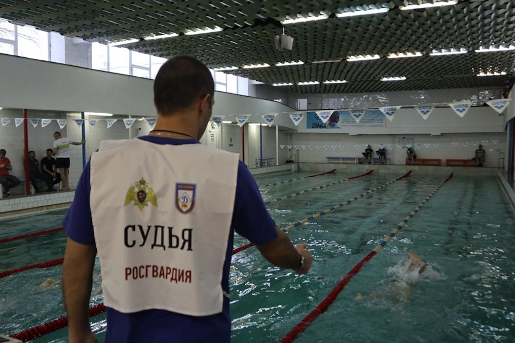 В Уральском округе Росгвардии состоялся чемпионат по офицерскому троеборью