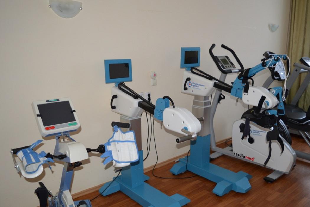 В ишимской больнице появилось новое оборудование для реабилитации