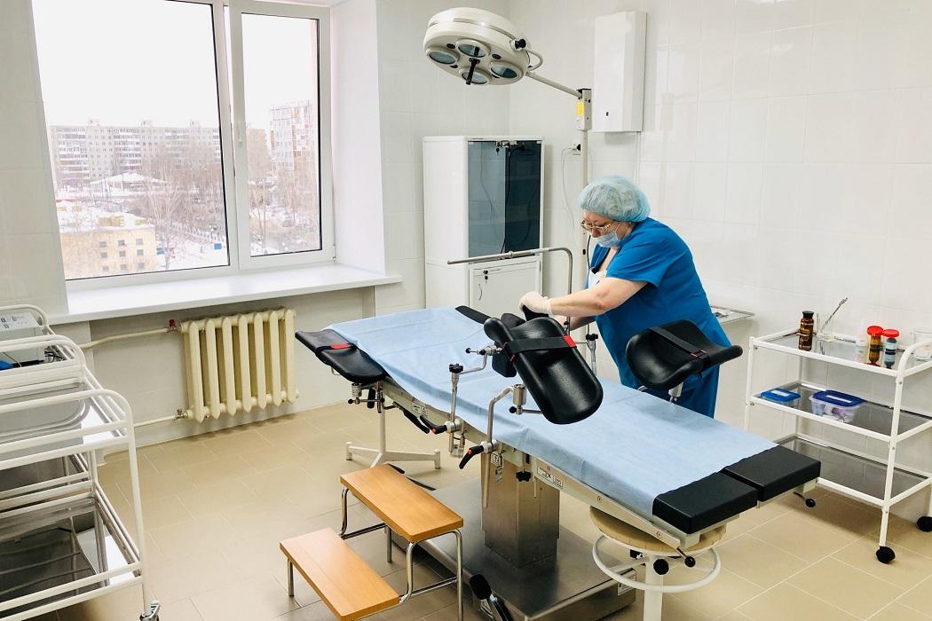 В поликлинике тобольской ОБ №3 отремонтировали два отделения