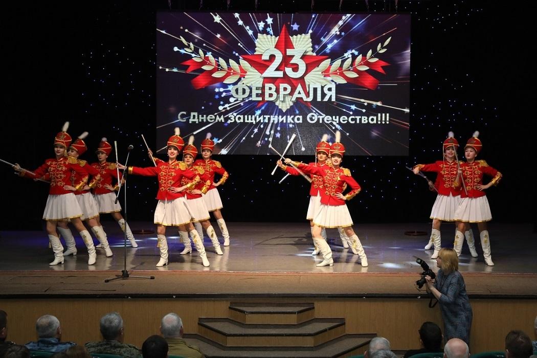 Концерт с Днём защитника Отечества