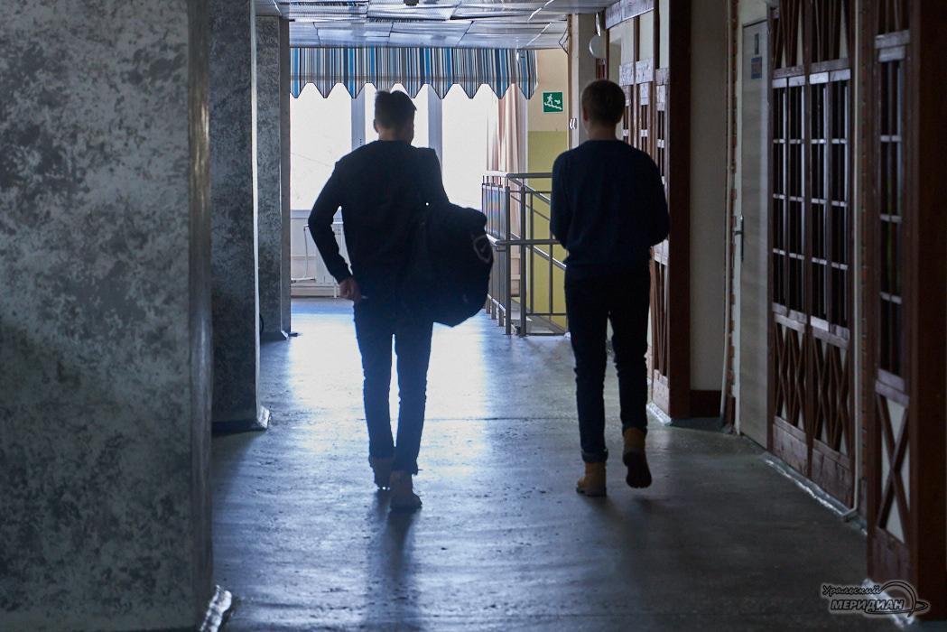 школа школьник коридор