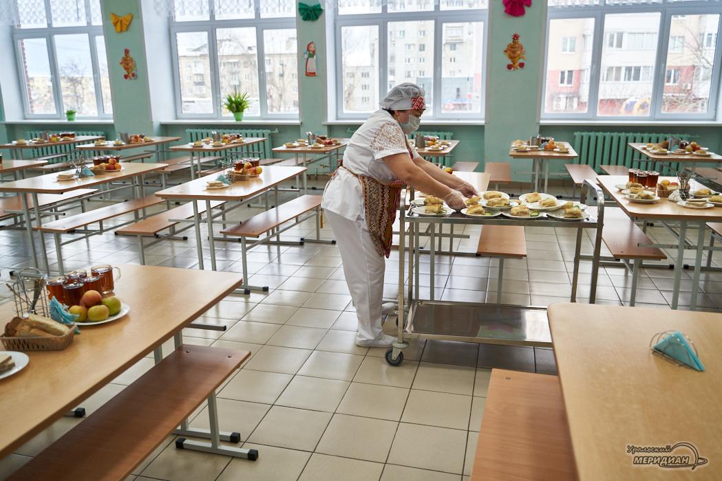 школа столовая еда