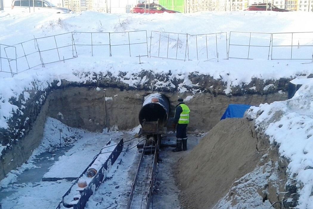 строительство новой теплотрассы