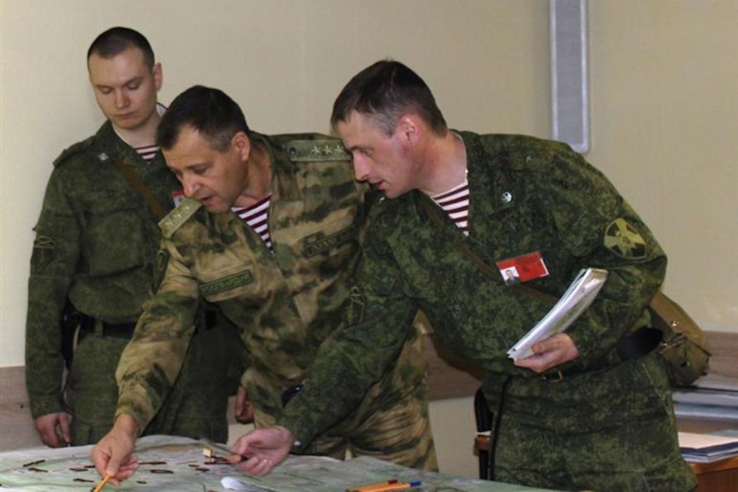 На Урале состоялось тактическое учение дивизии Росгвардии