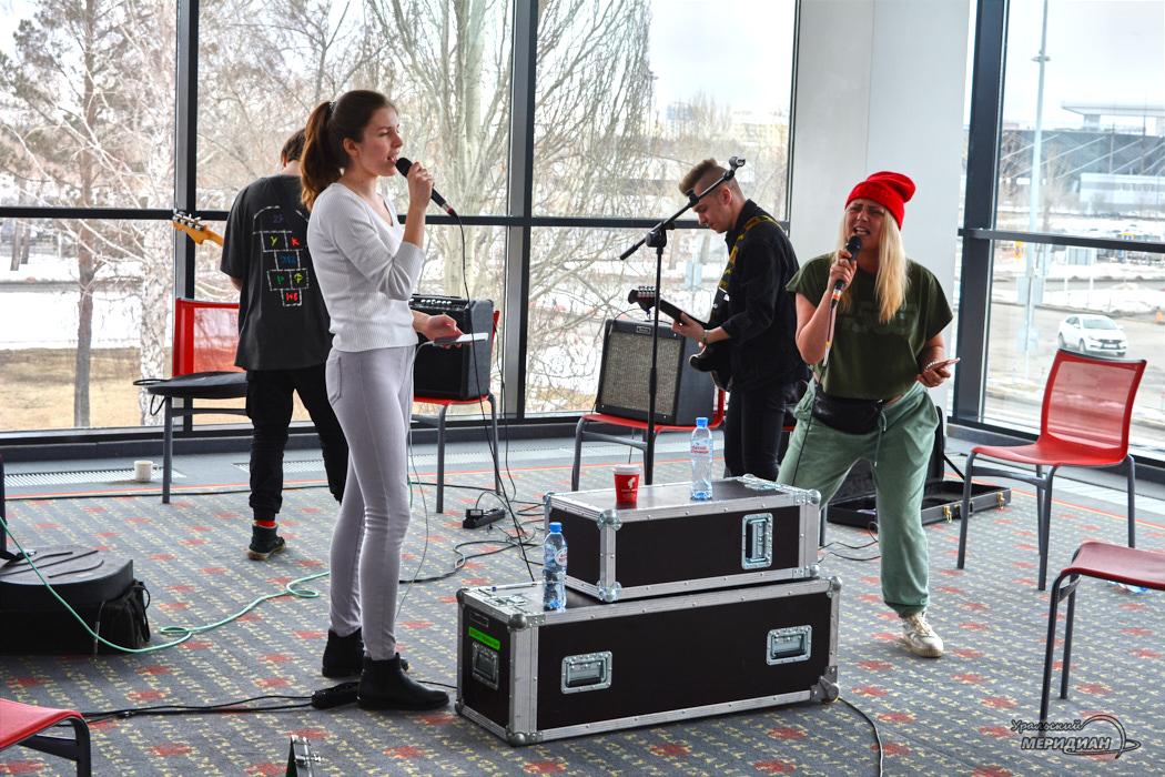 Ural Music Camp репетиция