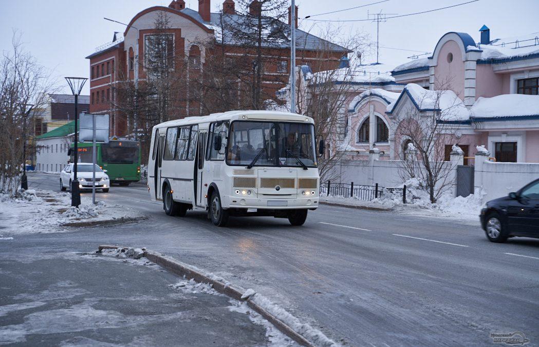 автобус транспорт дорога салехард