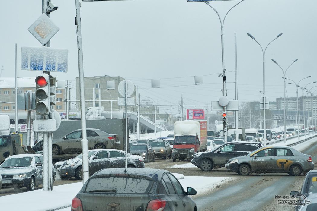 дорога машины перекресток город пробка