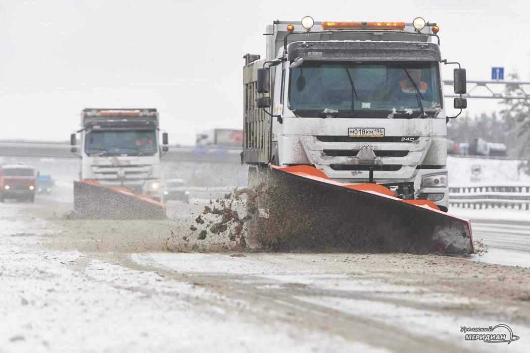 дорога снегоуборочная техника уборка снега