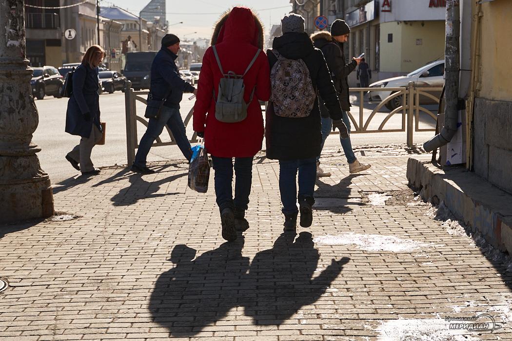 пешеходы люди город