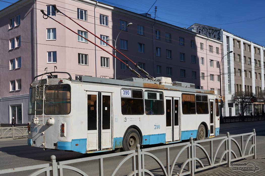 троллейбус дорога