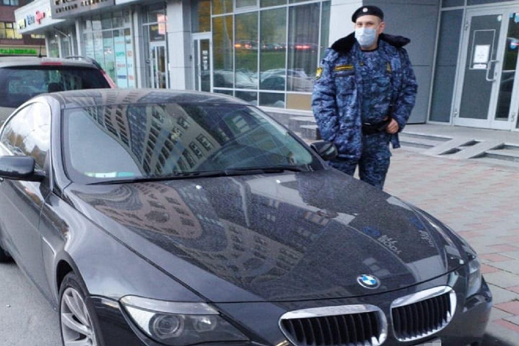 В Екатеринбурге приставы арестовали BMW и Chrysler за долги