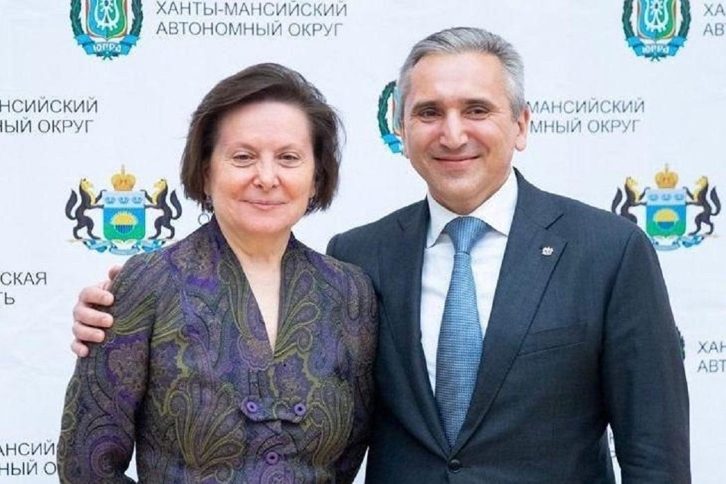 Глава Югры Наталья Комарова заболела коронавирусом