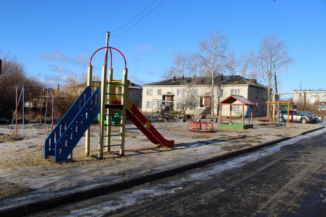 Горка + детская площадка