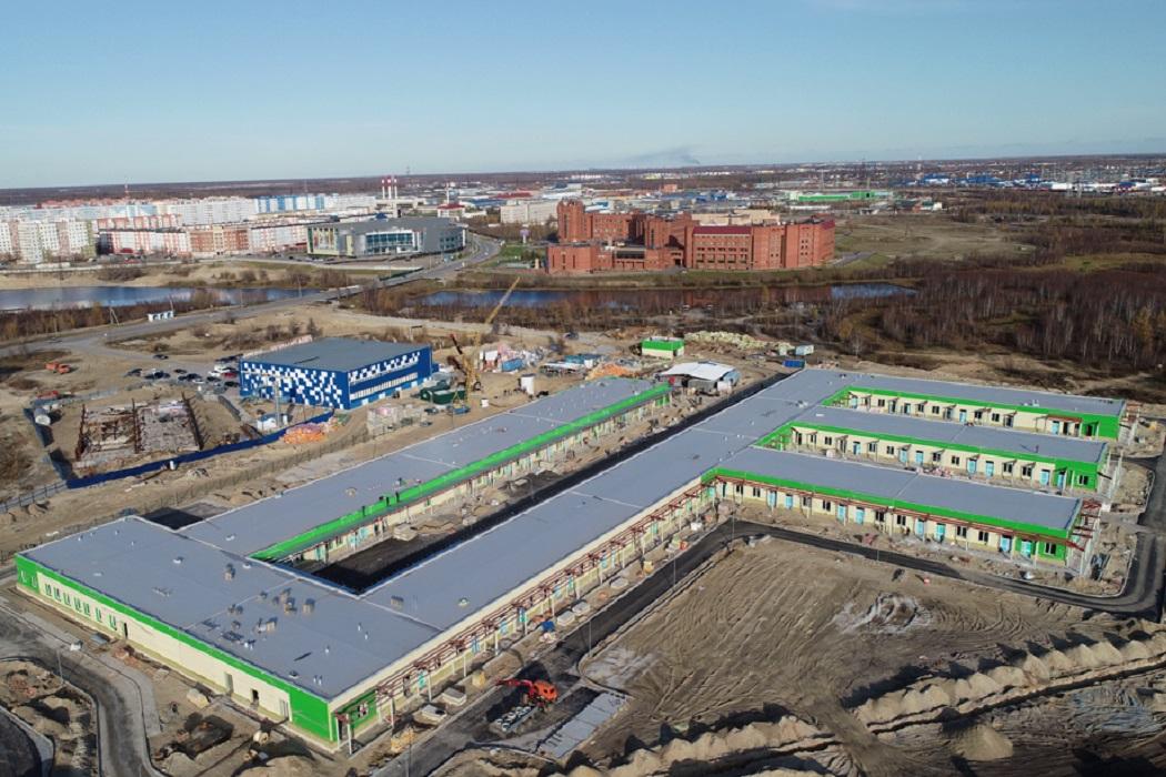 На Ямале продолжается строительство инфекционных госпиталей