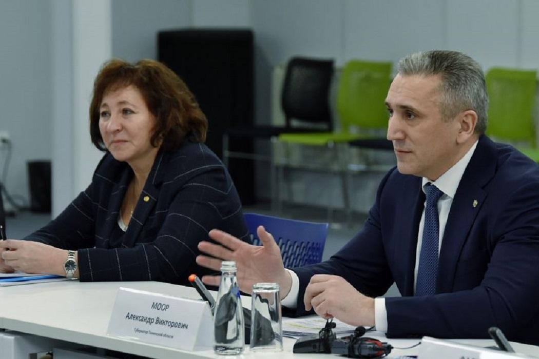 Наталья Шевчик и Александр Моор