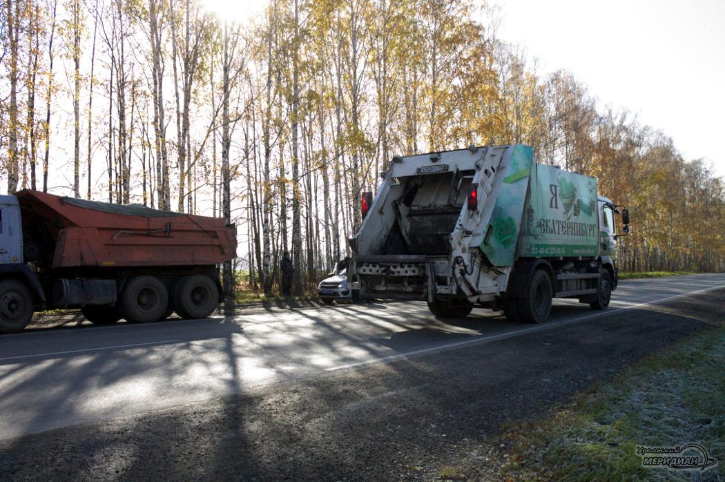 Рейд ГИБДД мусоровоз