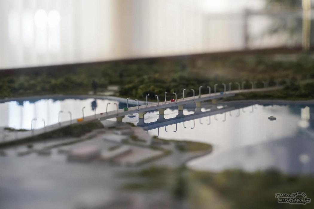 Строительство моста мост через Тагильский пруд