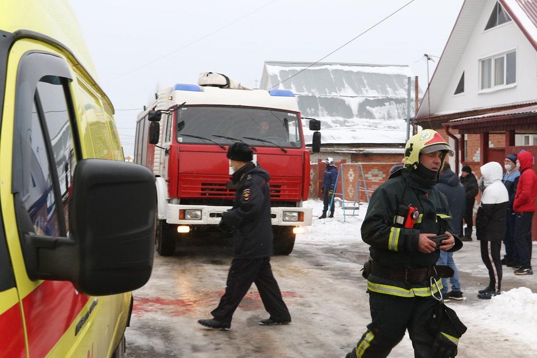 В Тюмени в трех домах взорвался газ, есть пострадавшие