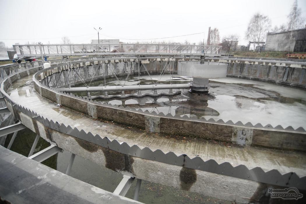 Водоканал очистные сооружения ЖБО