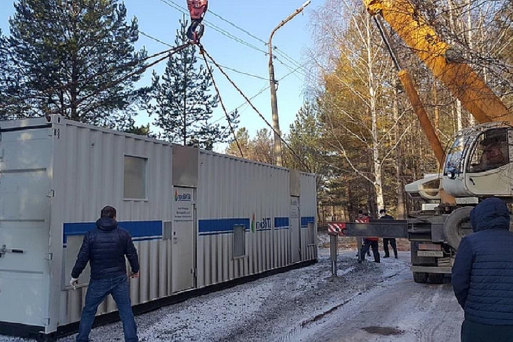 В Серове установили самую мощную на Среднем Урале кислородную станцию