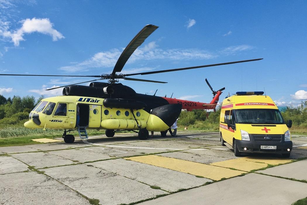 санавиация вертолет реанимация скорая