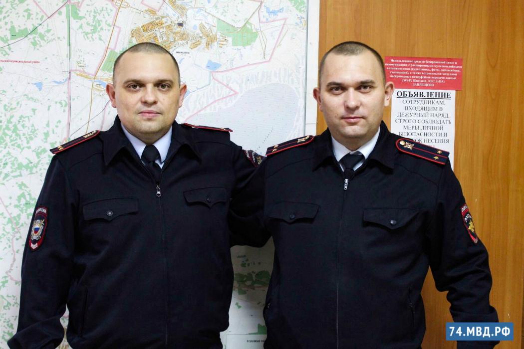 Близнецы из полиции Челябинской области поддержали флешмоб Двойная сила