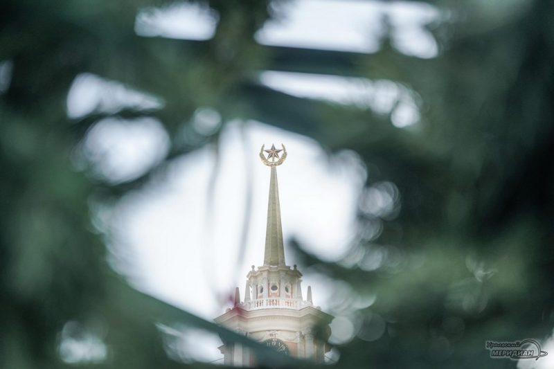 Екатеринбург ёлка ледовый городок