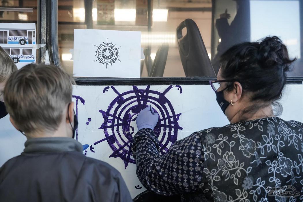 Ночь искусства арт тролейбус