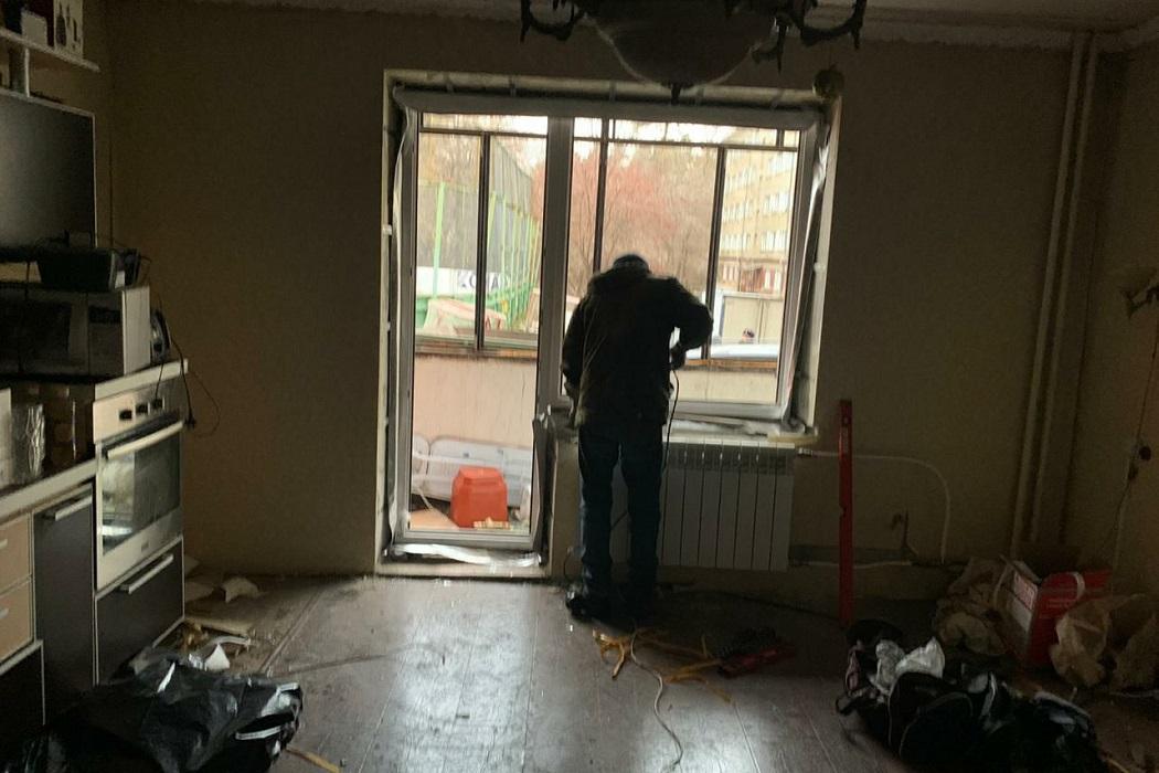 В Челябинске завершат остекление пострадавшего от взрыва в ГКБ №2 дома